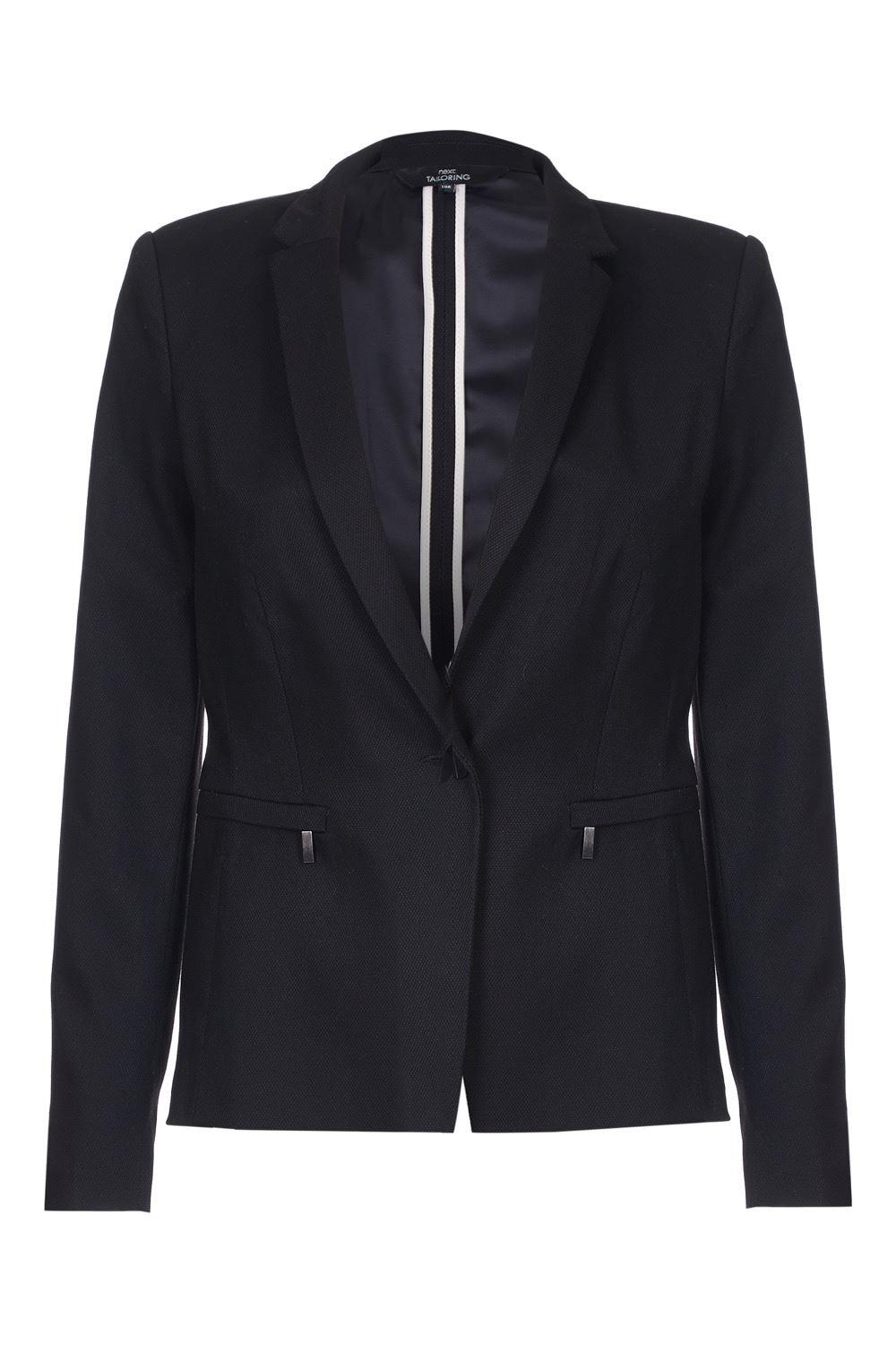 Anastasia Black Summer Blazer Jacket