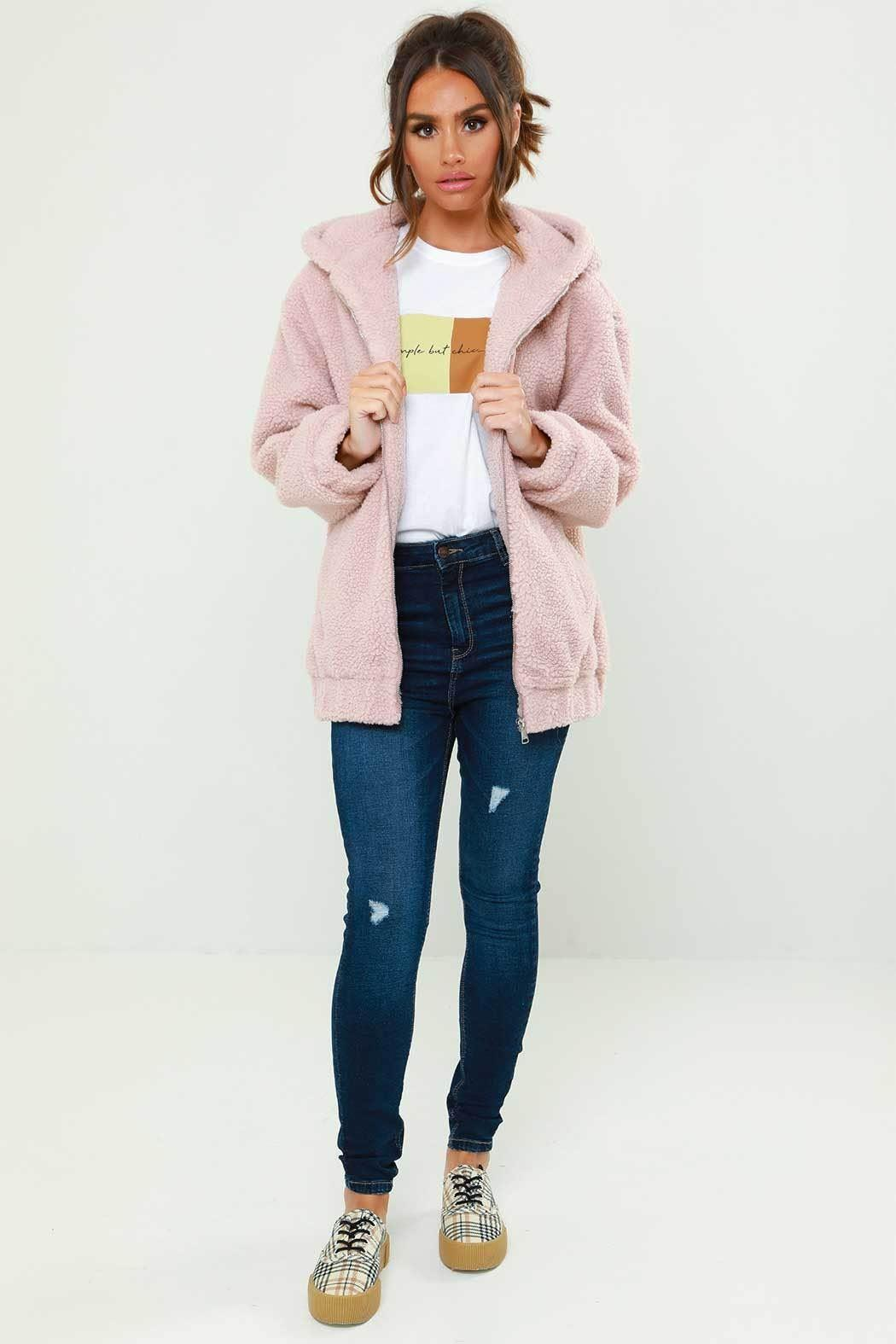Urban Bliss – Lexi Borg Hooded Bomber Jacket