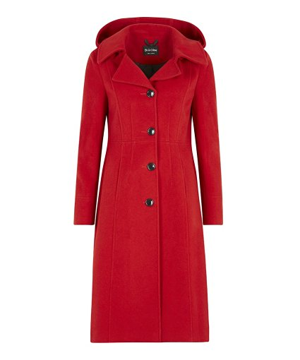 Anastasia - Hooded Cashmere Winter Coat
