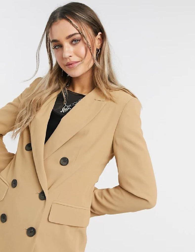 Ex Topshop double breasted blazer