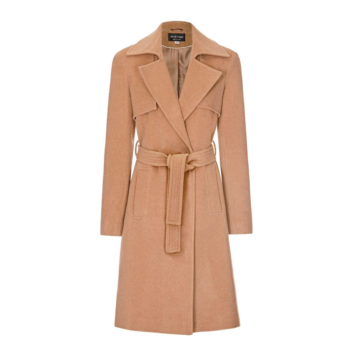 Anastasia Womens Winter Wrap Wool Cashmere Coat