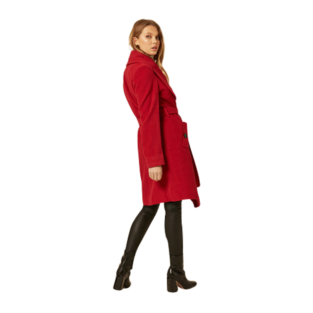 Anastasia Womens Wool and Cashmere Winter Coat
