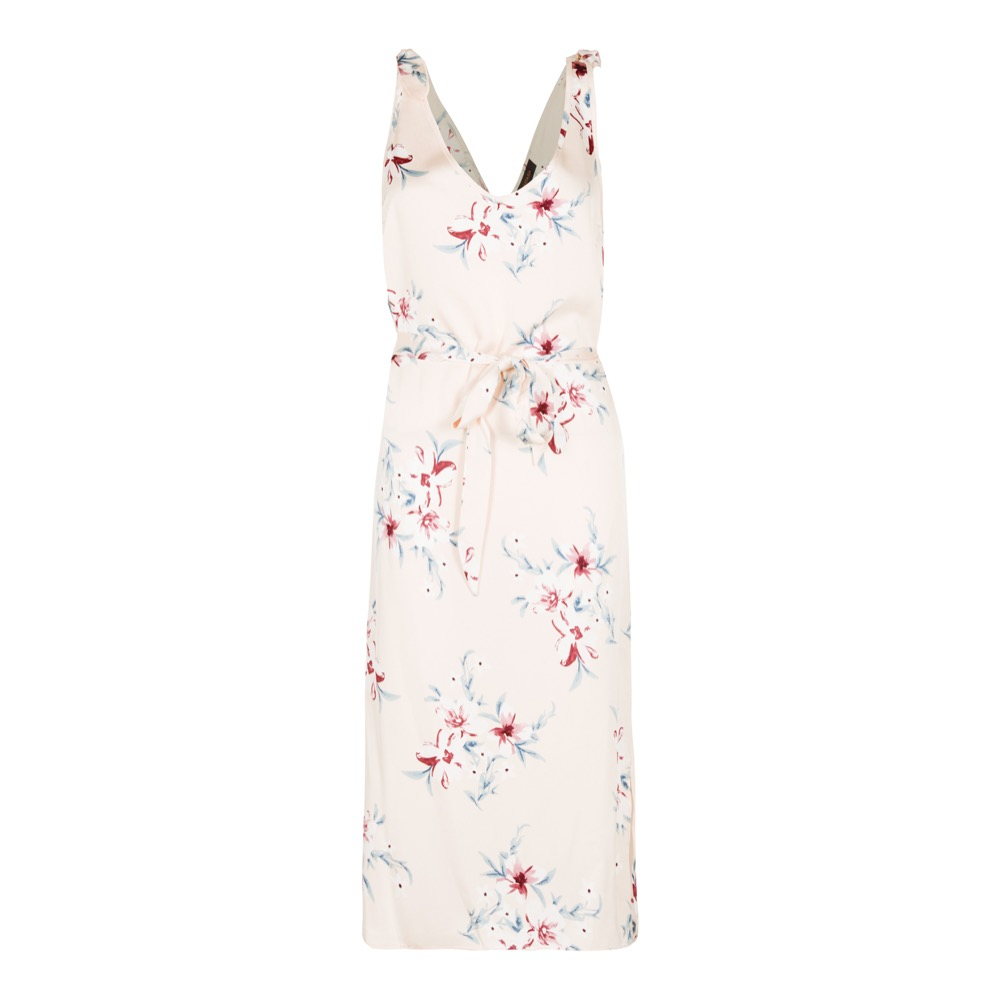 Anastasia - Women's Satin Floral Sundress