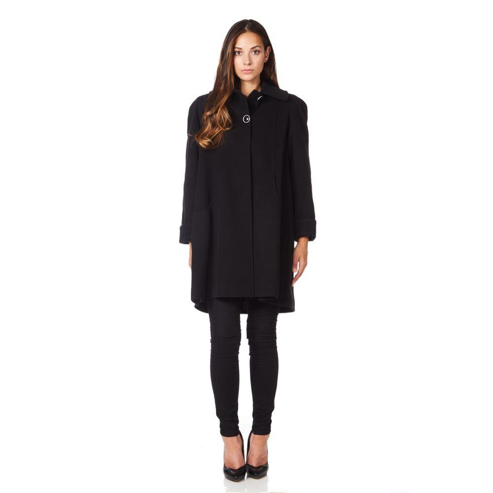 Anastasia - Womens Swing Wool Cashmere Winter Coat