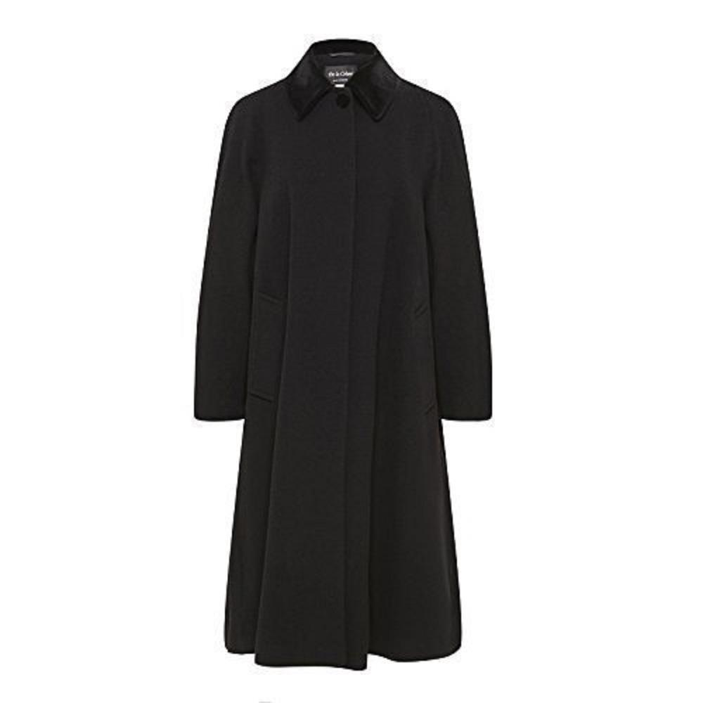 Anastasia - Women's Wool and Cashmere Blend Swing Winter Coat