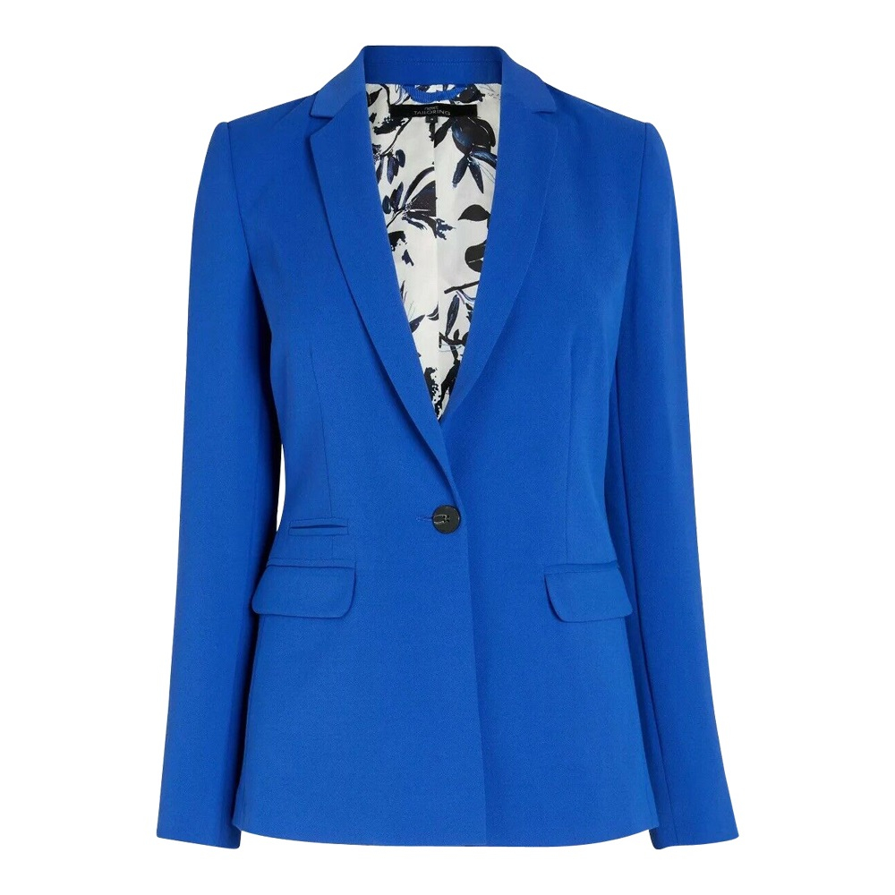 EX Next - Royal Blue Womens Fitted Blazer