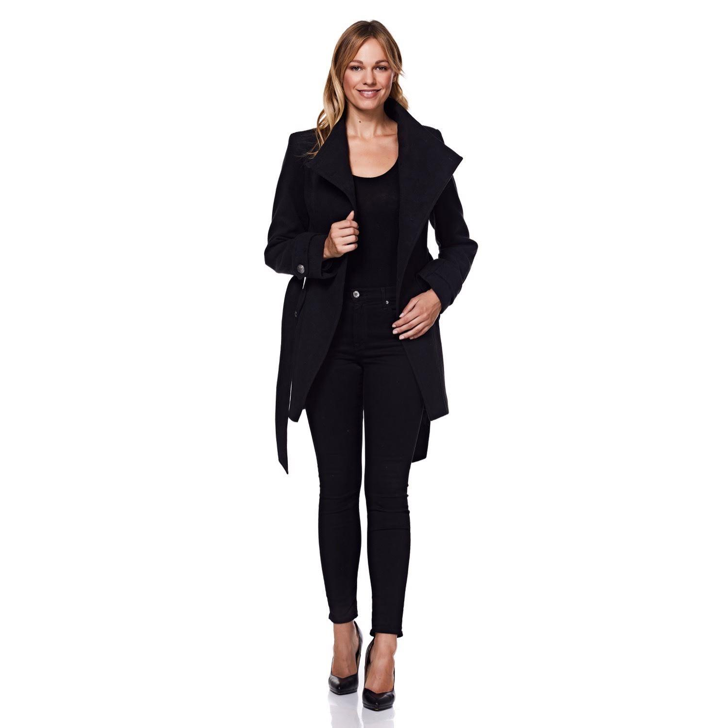 Anastasia -  Womens Asymetric Winter Coat