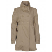 Vila - Cotton Raincoat Beige