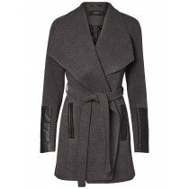 Vero Moda - Women's Wrap Cala Wool Winter Coat