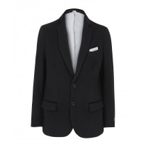 Classic- Men`s Grey Wool Cashmere Winter Slim Fit Luxury Jacket
