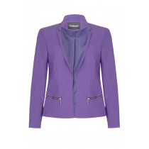 Anastasia-Women`s Short Edge To Edge Blazer