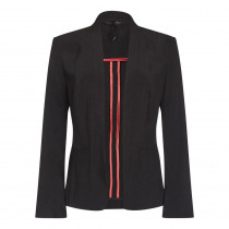 Anastasia - Black Women`s Unlined Tailored Jacket Blazer