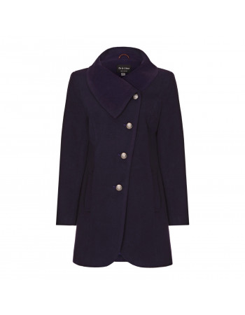 Anastasia -  Womens Winter Asymetric Coat