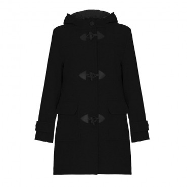 Anastasia - Women's Wool & Cashmere Winter Hooded Duffle Coat