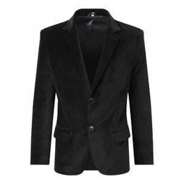 De La Creme - Mens Luxury Velvet Formal/Casual Blazer