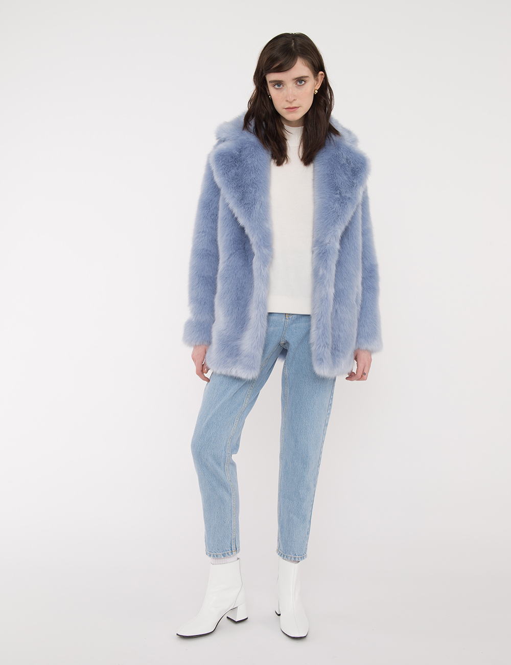 Dawn Luxe Faux Mongolian Faux Fur Jacket